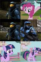 Mlp and RvB by AbsentParachute