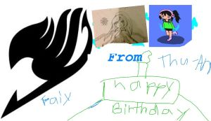 Me little sis's b day present for pure-blue-sky by snivy-fan