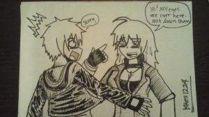 incer meets yang xiao long by Kites1224