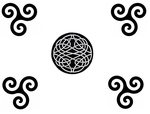 Celtic knot Simple by Orus