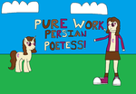 MLP: Pure Work, Persian Poetess! by RainbowxxxDash