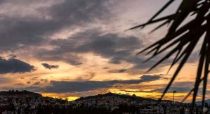 Sunset in Athens 0001 by etsap