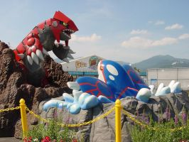 Groudon VS Kyogre 1 by POKePARK