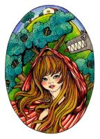 Little Red Riding Hood by cveta-net