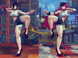 SSF4 Mod - Juri: Poison Cosplay by Segadordelinks
