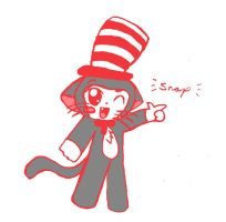 The Cat in the Hat by Madam-Milano