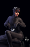 Catwoman by ayhotte