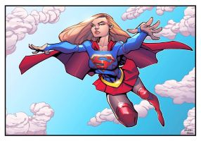 Supergirl Commission by mikebowden