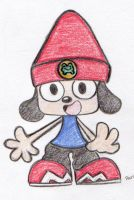 P.01 Parapa The Rapper... by nekoni-klonoa2