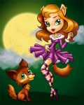 Dancing with a wolf by AliciaBel