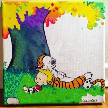 Calvin and Hobbes by sHoRtY773