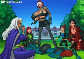 Rogue's Expanding Powers by expansion-fan-comics