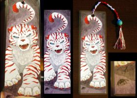 ForSale: Tiger Bookmark by Aerozaine