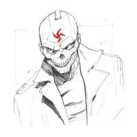 The Red Skull by AdamLimbert
