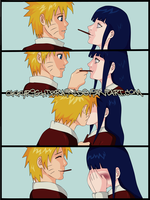 Naruhina and Chocolate stick by Okky-RightBrain