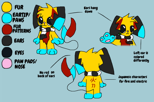 Ref sheet full by Drayko-the-Pyro