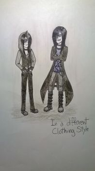 Day 15:In a different Clothing Style by KiarytheWolf