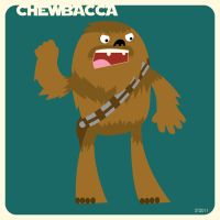 C is for Chewbacca by striffle