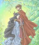 Beren and Luthien by sarumanka