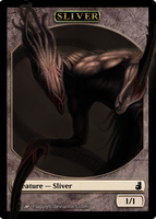 Sliver token -realistic- by flappyb