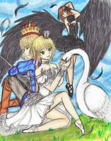 Liechtenstein-Swan Princess by malentia