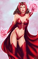 Scarlet Witch - Colors by TracyWong