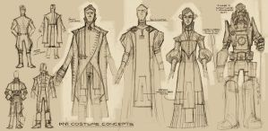 D'ni Costume Designs by shoomlah