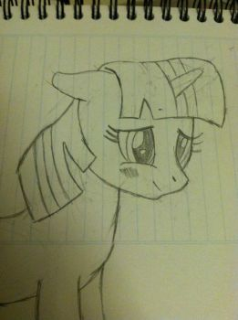 Twily face sketch :3 by Tespeon