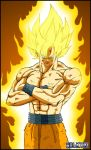 Son goku ssj -02- by DBZwarrior