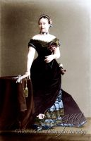 Victoria, Crown Princess of Germany, 1883 by BooBooGBs