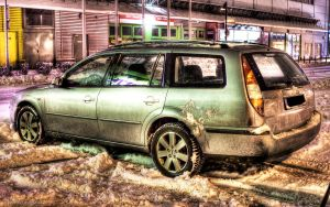 HDR WALLPAPER HDTV FORD MONDEO by HAPZ86