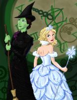 The Wonderful Witches of Wicked by punker--rocker