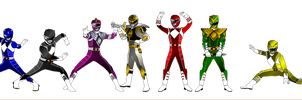MMPR BITS for Dishdude87 by rangeranime