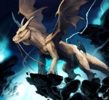 Lightning dragon by ononheli