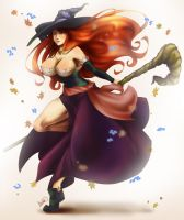 Dragon's Crown Sorceress by DHackWings