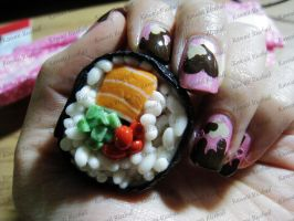 MotherMayI Sushi Magnet 2 by me0w-kittyy