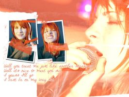 Hayley Williams wallpaper by lovestickmelody