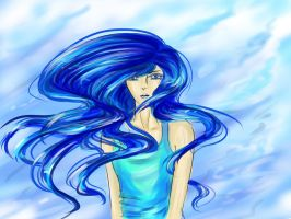 Why so blue? by ivanka-a