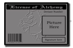 Alchemy License by Alchemists-United