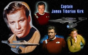Captain James T. Kirk by Balsavor