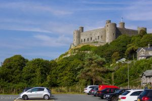 Harlech Castle - From the Southwest by LordMajestros