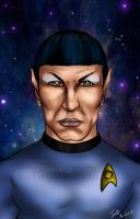 Spock Tribute by blueliberty