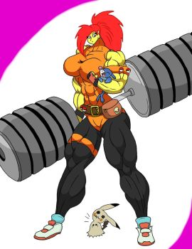 Litteral Gym Leader Jessica 1.5 by mud666