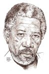 MORGAN FREEMAN in an hour by MalevolentNate
