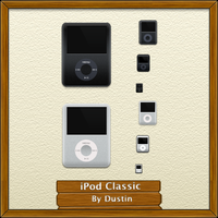 "iPod Classic ""6G"" by mikevickrocks"