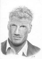 Dolph Lundgren by Gough83