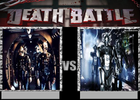 Deathbattle77: Borg vs Cybermen by Mr-Wolfman-Thomas