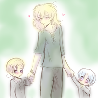APH - Nordic little'ns by R-ninja