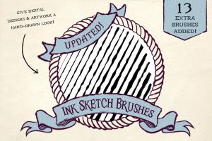 Ink Sketch Brushes by Jeremychild
