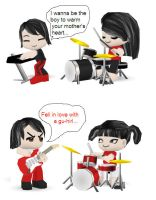 The White Stripes Buddypoke by Ben2DJammin